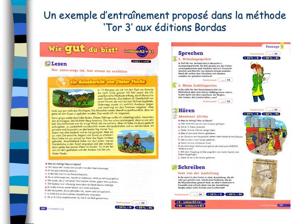 Ressources Pour entraîner les élèves aux différentes épreuves, une adresse précieuse : www.auslandsschulwesen.de/dsd www.auslandsschulwesen.de/dsd De