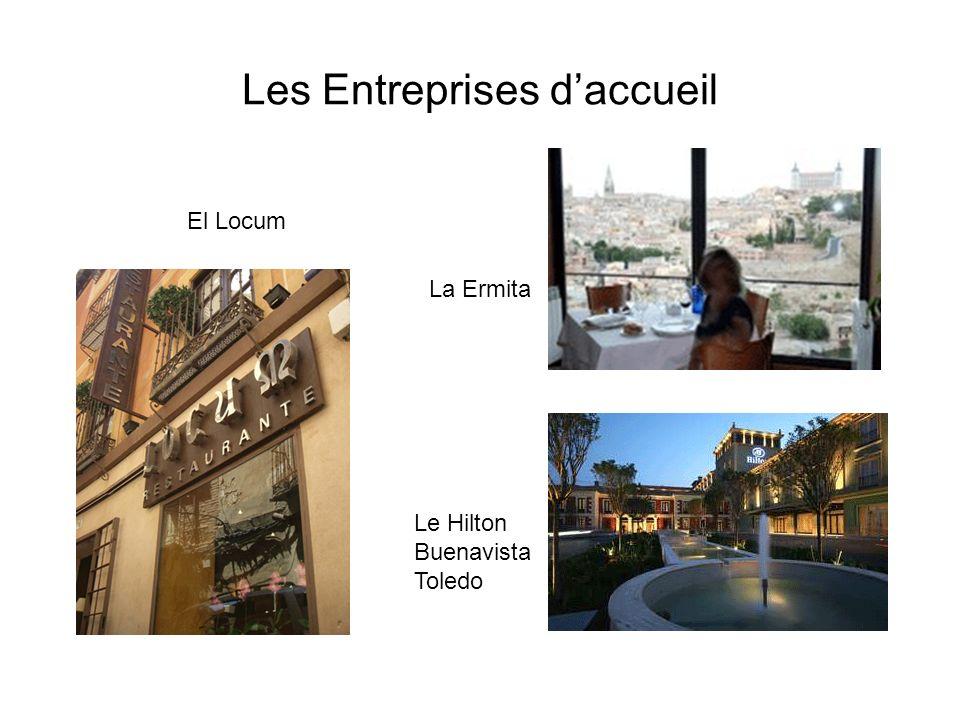 Les Entreprises daccueil Le Hilton Buenavista Toledo El Locum La Ermita