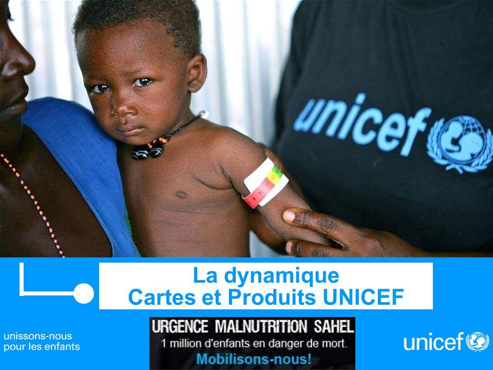 La dynamique Cartes et Produits UNICEF