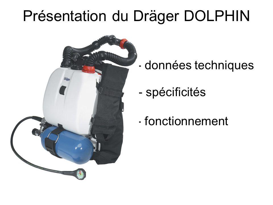 Présentation du Dräger DOLPHIN - données techniques - spécificités - fonctionnement