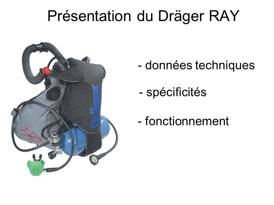 Présentation du Dräger RAY - données techniques - spécificités - fonctionnement