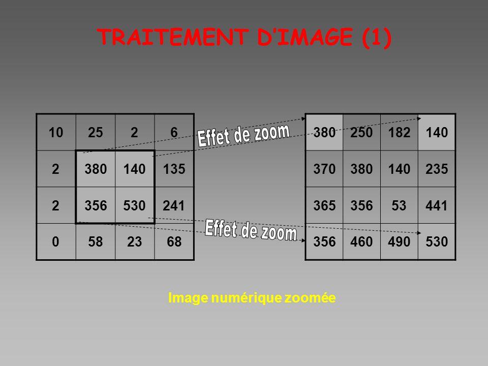 TRAITEMENT DIMAGE (1) 102526 2380140135 2356530241 0582368 Image numérique zoomée 380250182140 370380140235 36535653441 356460490530