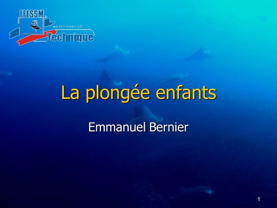 1 La plongée enfants Emmanuel Bernier