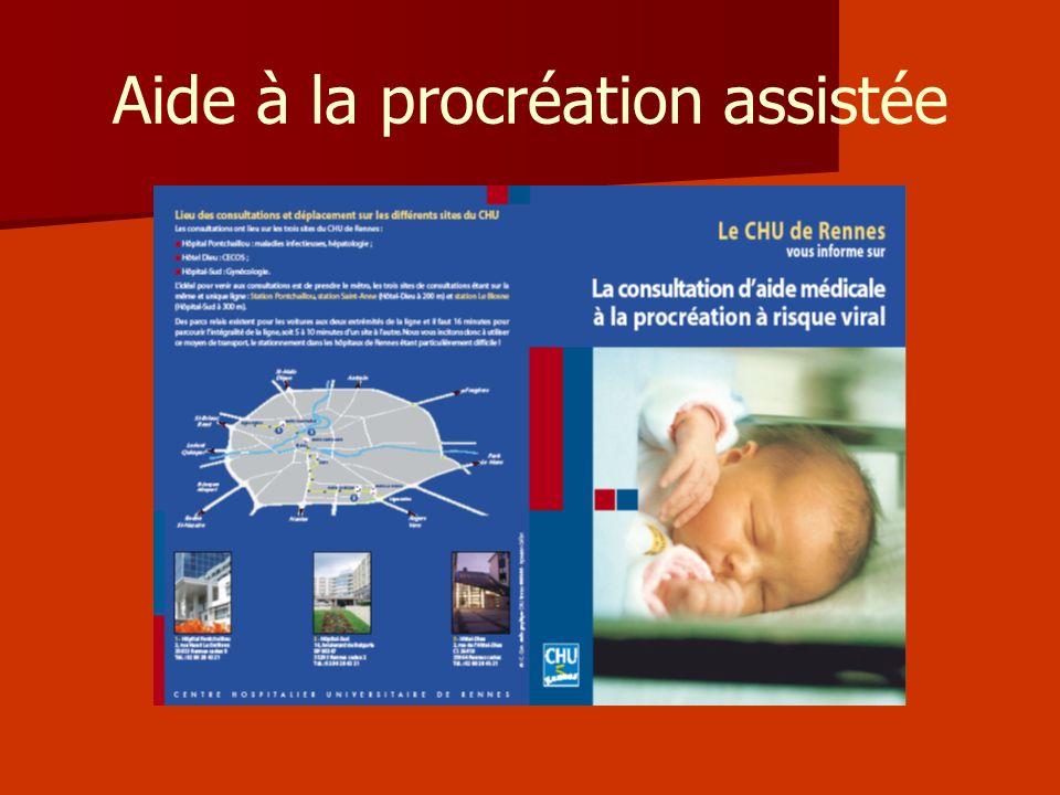 Aide à la procréation assistée