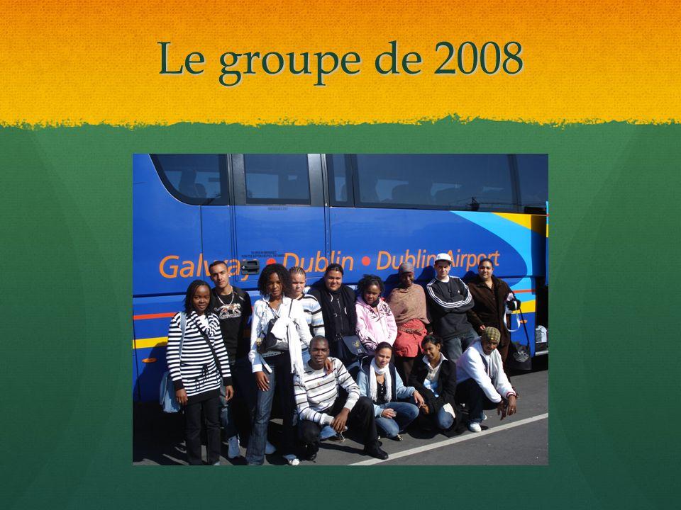 Le groupe de 2008