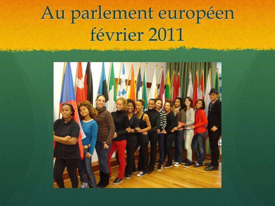Au parlement européen février 2011