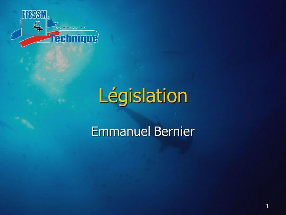 1 Législation Emmanuel Bernier