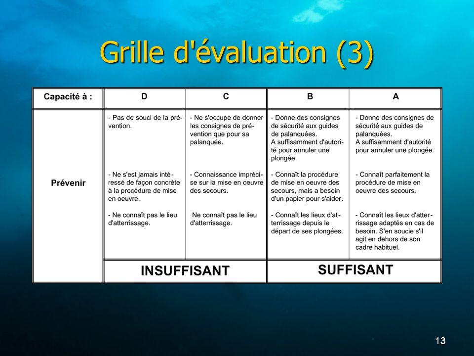 13 Grille d'évaluation (3)
