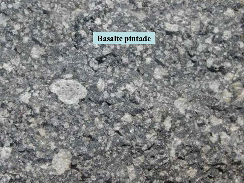 Basalte pintade