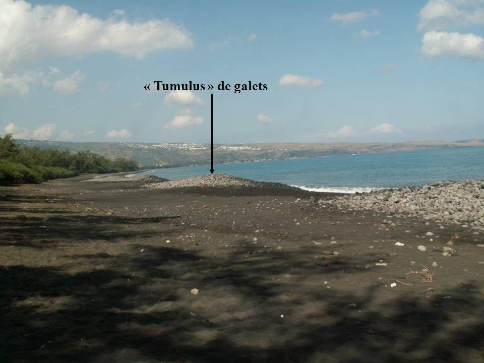« Tumulus » de galets