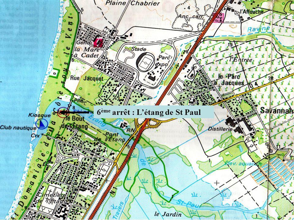 6 ème arrêt : Létang de St Paul