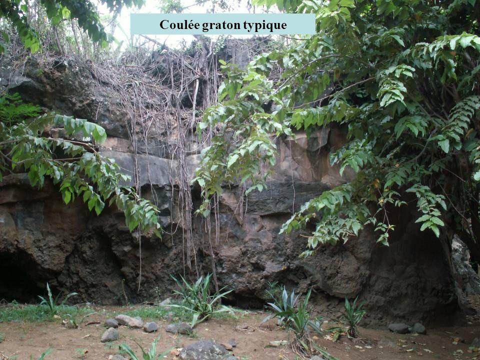 Coulée graton typique