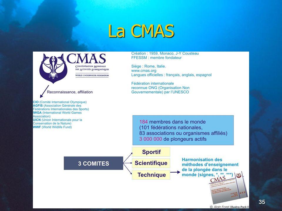 35 La CMAS