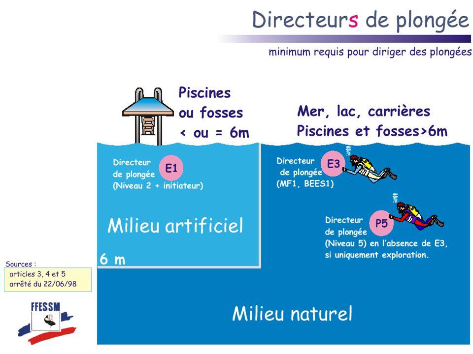 Le guide de palanquée Plusieurs plongeurs qui effectuent ensemble une plongée présentant les mêmes caractéristiques de durée, de profondeur et de trajet constituent une palanquée.