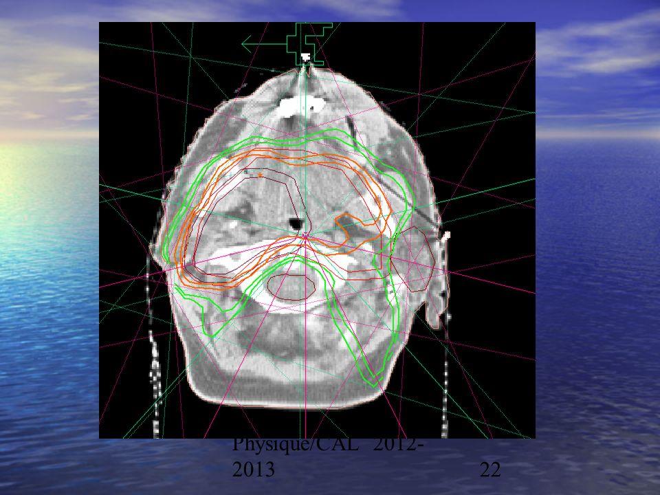 Physique/CAL 2012- 201322