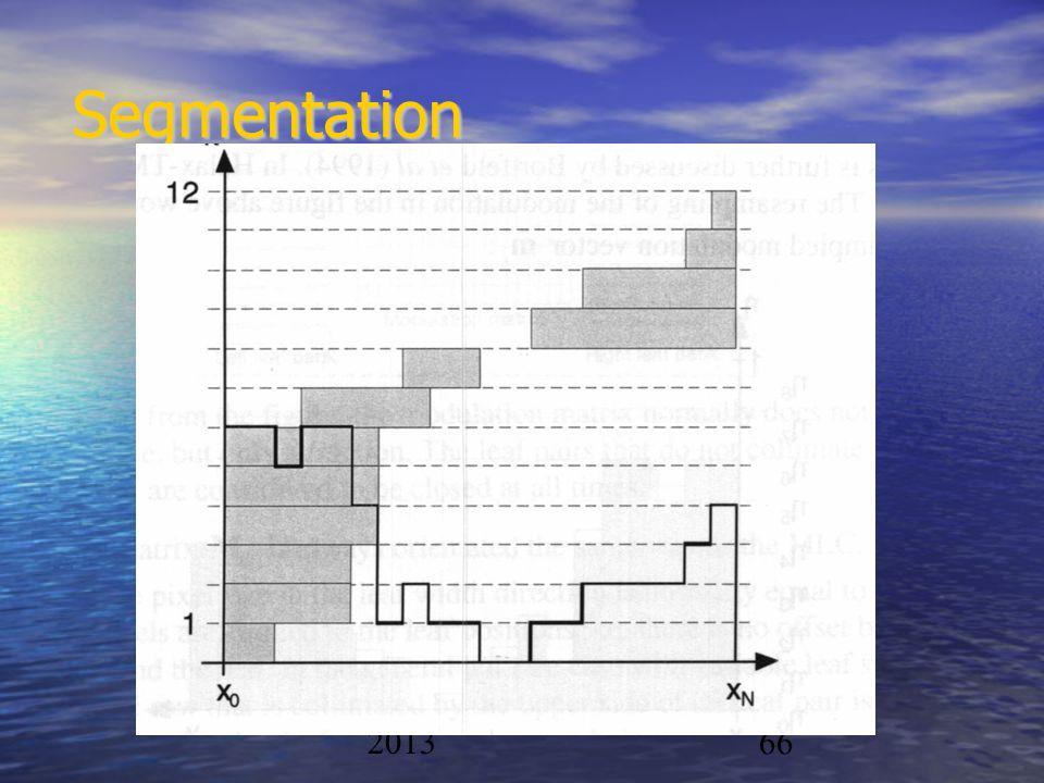 Physique/CAL 2012- 201366 Segmentation
