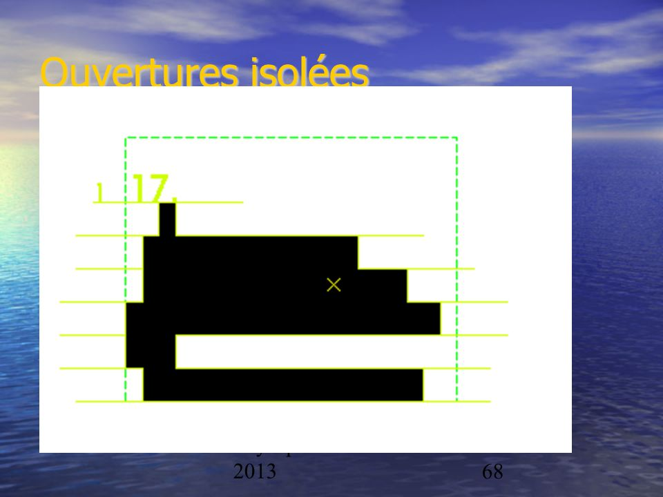 Physique/CAL 2012- 201368 Ouvertures isolées