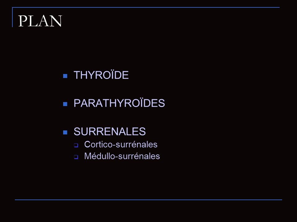 Préparations Régime hypo-iodé (1 semaine) Arrêt des médicaments interférant avec la fixation de liode au niveau thyroïdien: Stop hormones thyroïdiennes durant 2 semaines Stop anti-thyroïdiens de synthèse pendant 5 jours Respecter un délai suffisant après si surcharge iodée ( 5 semaines si injection PDC iodé, plusieurs mois si Cordarone, 1 semaine si alimentaire)