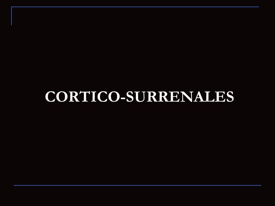 CORTICO-SURRENALES