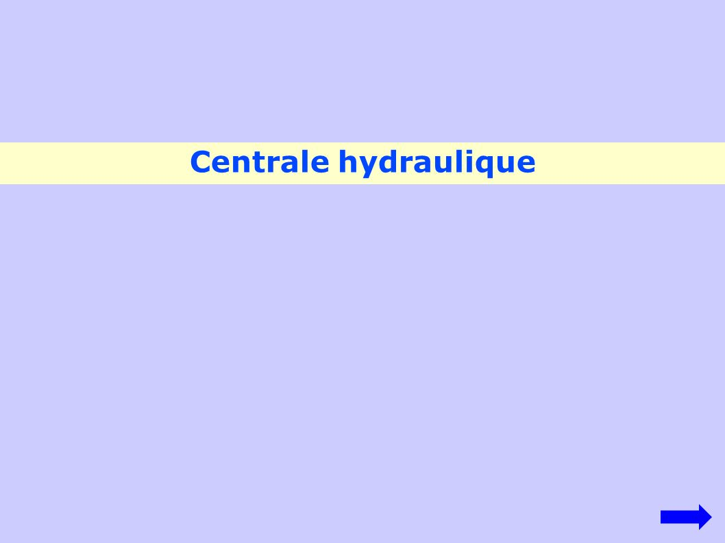 Centrale hydraulique