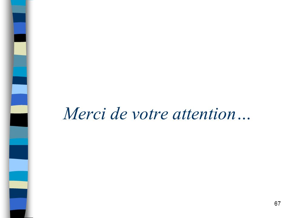 67 Merci de votre attention…