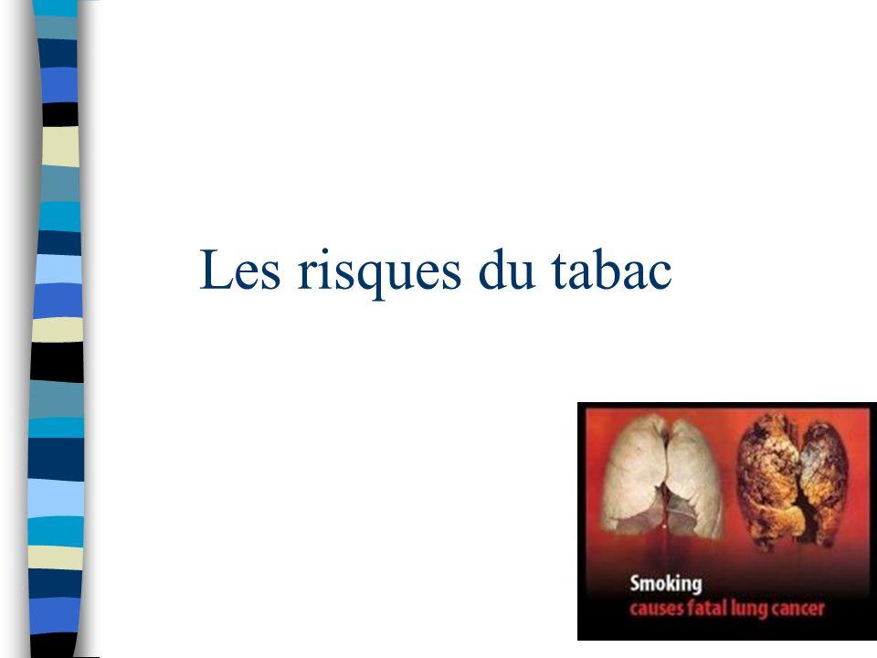 Les risques du tabac