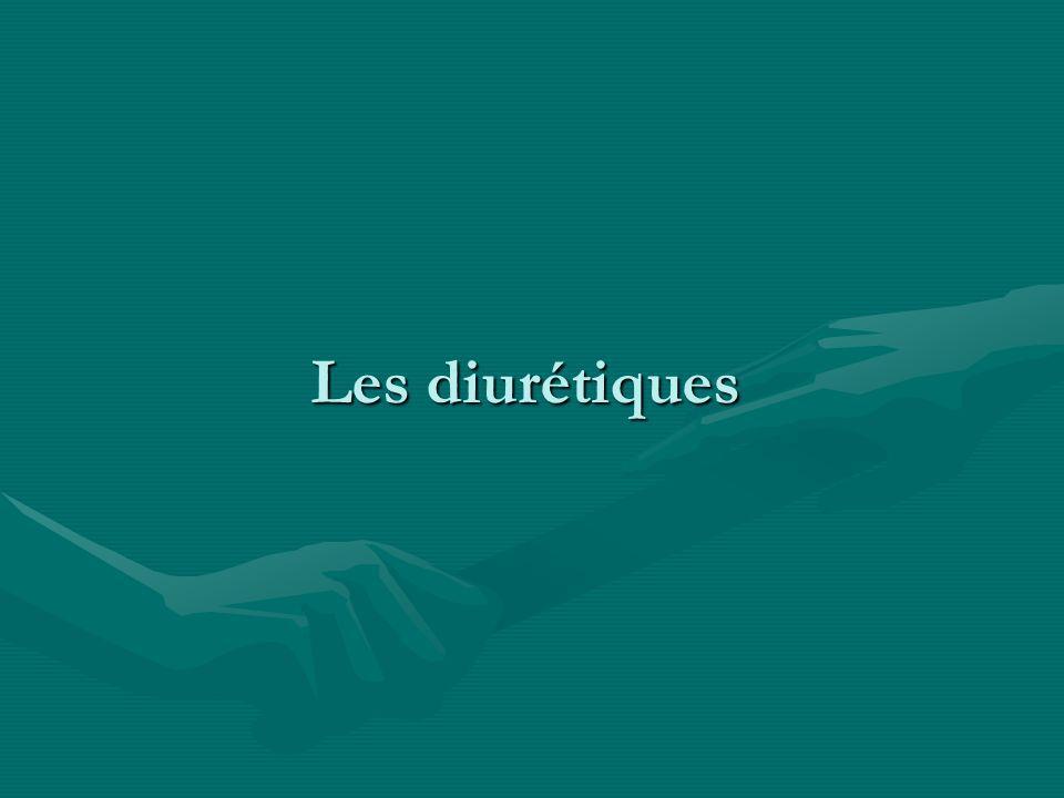 Les diurétiques