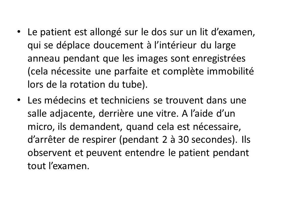 DEROULEMENT PRATIQUE DE LEXAMEN Afin dinjecter ce produit dans les artères, il est impératif dintroduire un tuyau creux jusquà leur niveau de manière à ce que le produit opaque aux rayons X puisse être injecté.