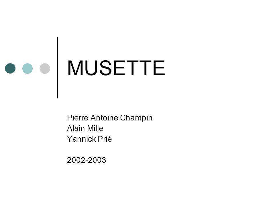 MUSETTE Pierre Antoine Champin Alain Mille Yannick Prié 2002-2003
