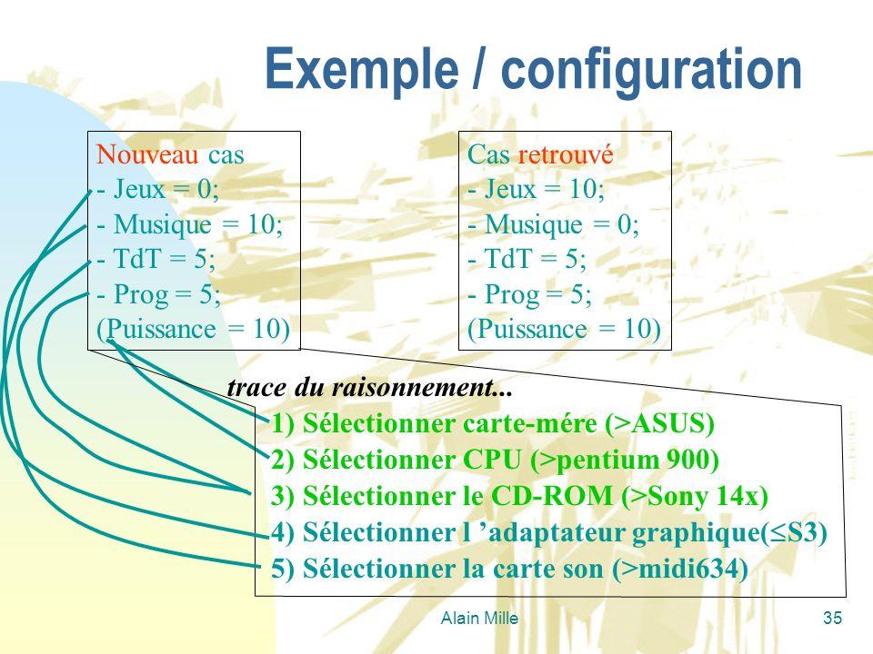 Alain Mille35 Nouveau cas - Jeux = 0; - Musique = 10; - TdT = 5; - Prog = 5; (Puissance = 10) Cas retrouvé - Jeux = 10; - Musique = 0; - TdT = 5; - Pr