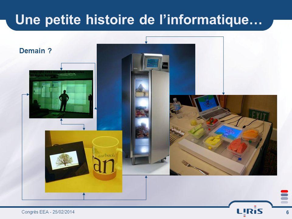 Congrès EEA - 25/02/2014 17 And in 2009, a new paradigm : cloud computing Amazon, Google, Microsoft… even LOréal .
