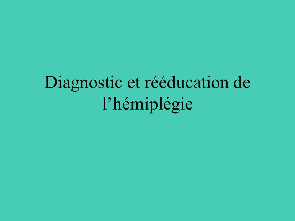 Diagnostic et rééducation de lhémiplégie