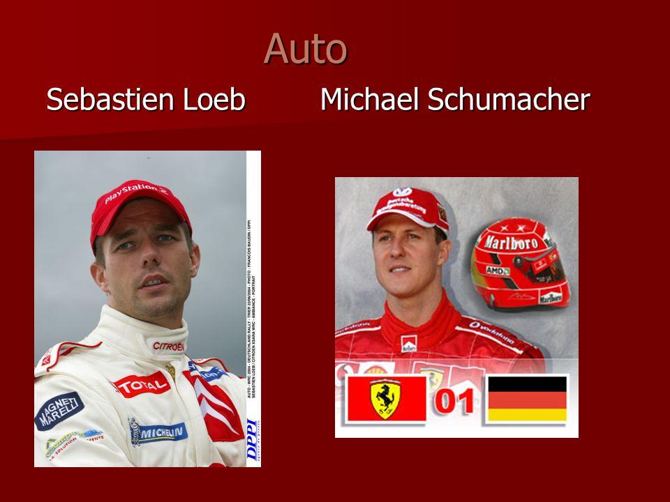 Sebastien Loeb Michael Schumacher Auto