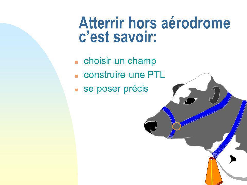 LE VOL SPORTIF Bruno Balay - CTS Vol à Voile Présentation Progression sur la campagne Atterrissage hors aérodrome Pilotage de qualité