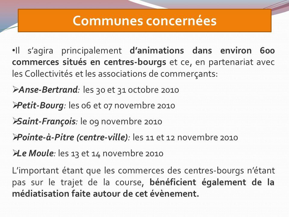 Une voiture publicitaire aux couleurs de lopération (total covering) sera mise en circulation du 30 octobre au 14/11/10 dans les communes concernées.