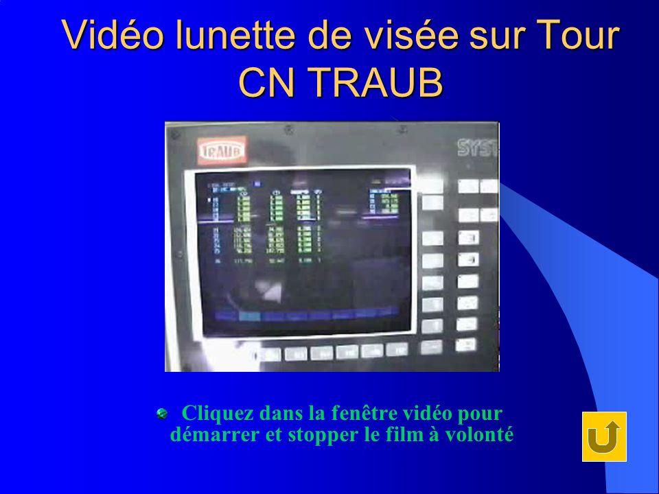 Vidéo lunette de visée sur Tour CN TRAUB Cliquez dans la fenêtre vidéo pour démarrer et stopper le film à volonté