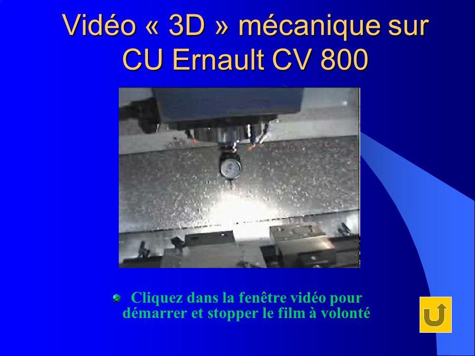 Vidéo « 3D » mécanique sur CU Ernault CV 800 Cliquez dans la fenêtre vidéo pour démarrer et stopper le film à volonté