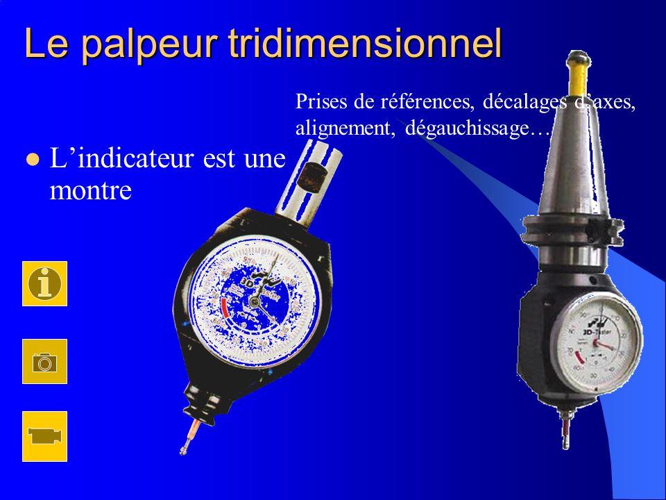 Quelques accessoires Kit de centrage sur machine Palpeurs pour centreur ou comparateur à levier Cône adaptateur palpeur 3D Sphère daccostage