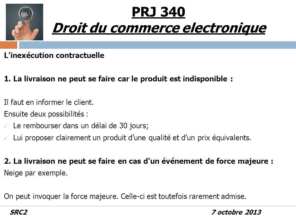 Linexécution contractuelle 1.