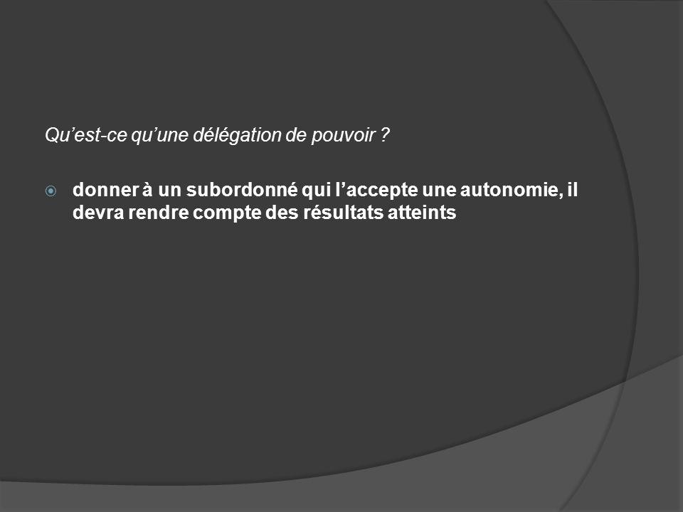 1/ LES FORMES DE LA DECENTRALISATION Quest-ce que la décentralisation verticale ou délégation .