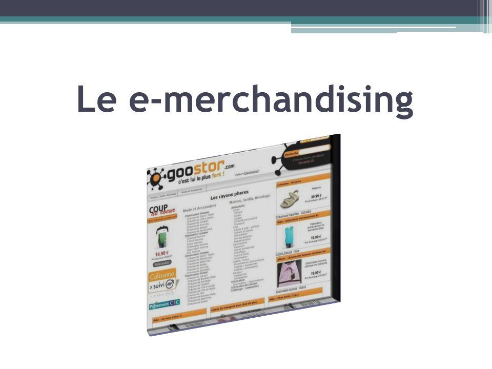 Le e-merchandising