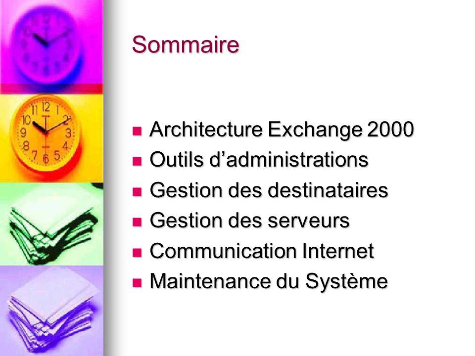 Installation Service gestionnaire de clés Microsoft Exchange Service de Messagerie instantanée Service Microsoft Exchange Chat Outlook Web Access Options