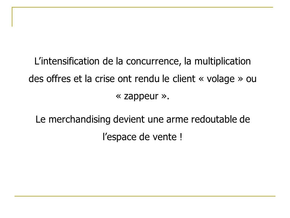 Lintensification de la concurrence, la multiplication des offres et la crise ont rendu le client « volage » ou « zappeur ».