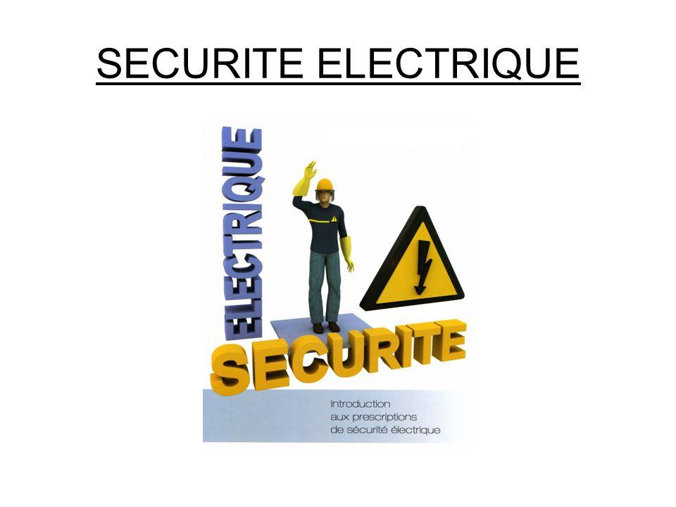 SECURITE ELECTRIQUE