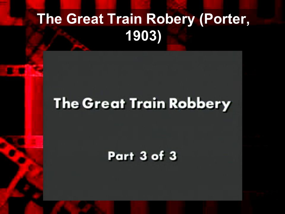 The Great Train Robery (Porter, 1903)