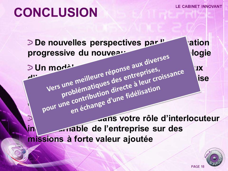 De nouvelles perspectives par lapplication progressive du nouveau code de déontologie Un modèle dorganisation autour des flux dinformations stratégiqu