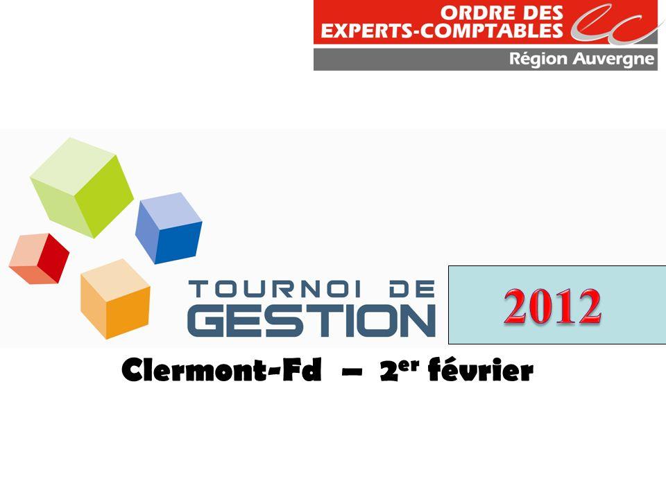 Clermont-Fd – 2 er février
