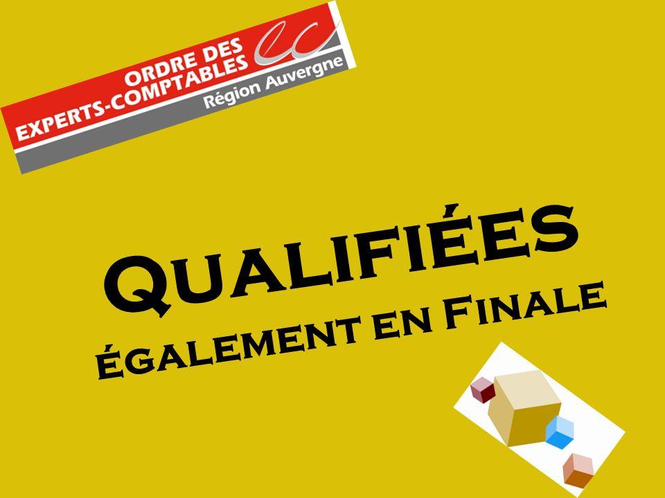 Qualifiées également en Finale