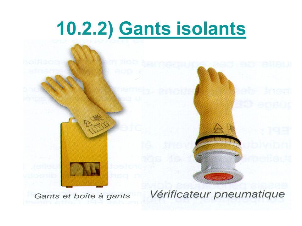 Tension dutilisation des gants Les gants de classe 1,2,3,4 doivent être contrôlés tous les 6 mois