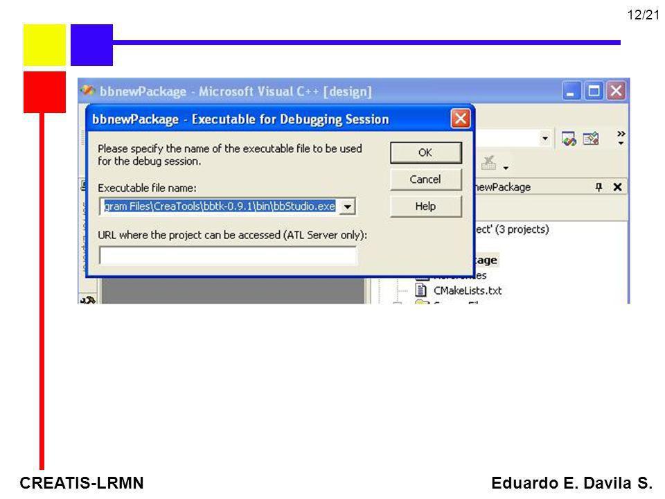 CREATIS-LRMN Eduardo E. Davila S. 12/21